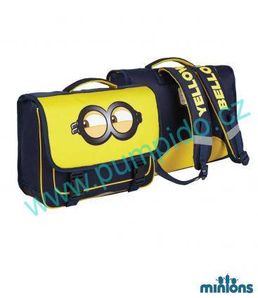34c64c1185 Školní taška Mimoni
